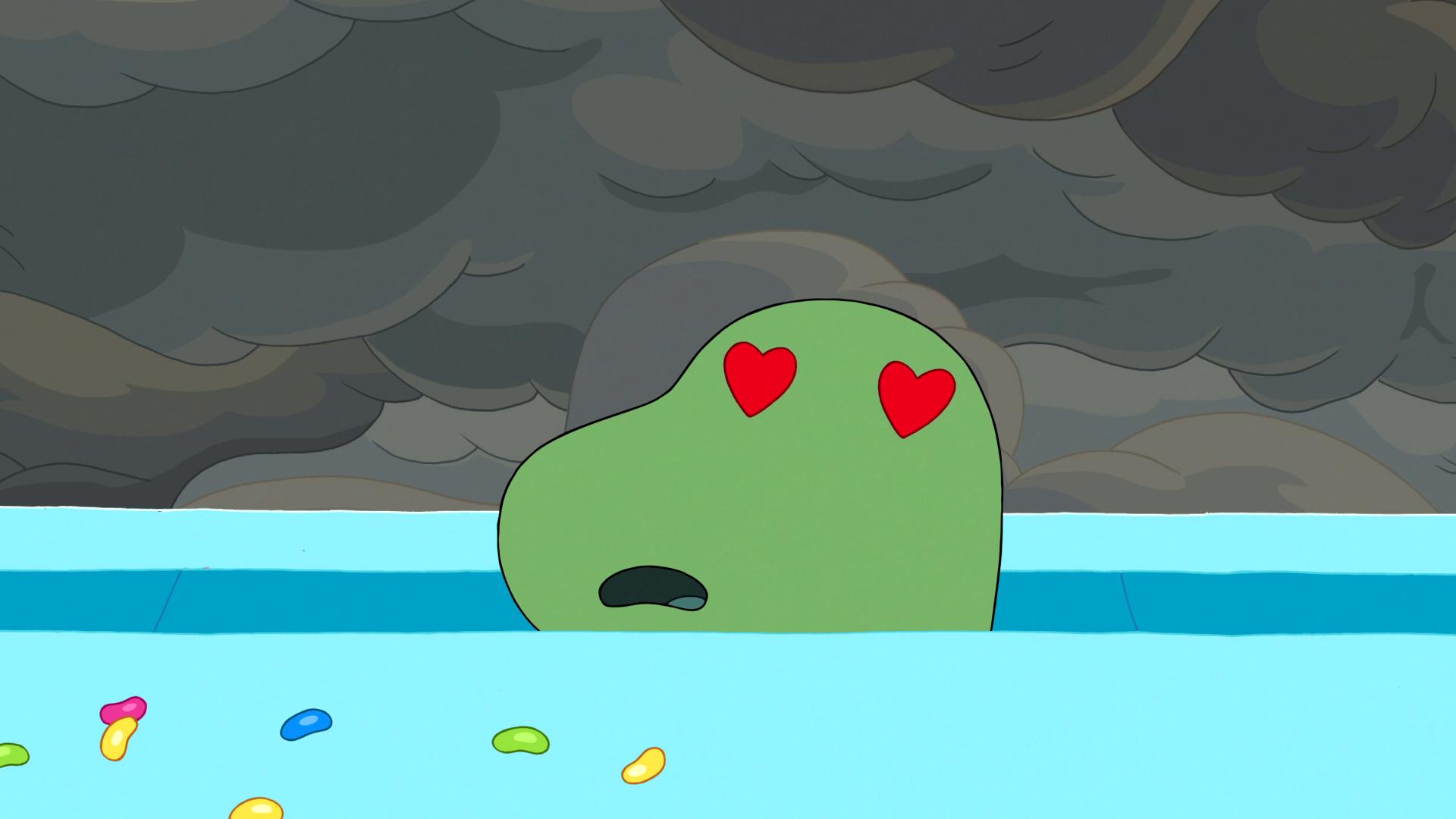 S6e24 Heart-eyed Gunther