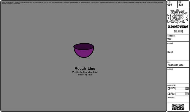 Modelsheet bowl