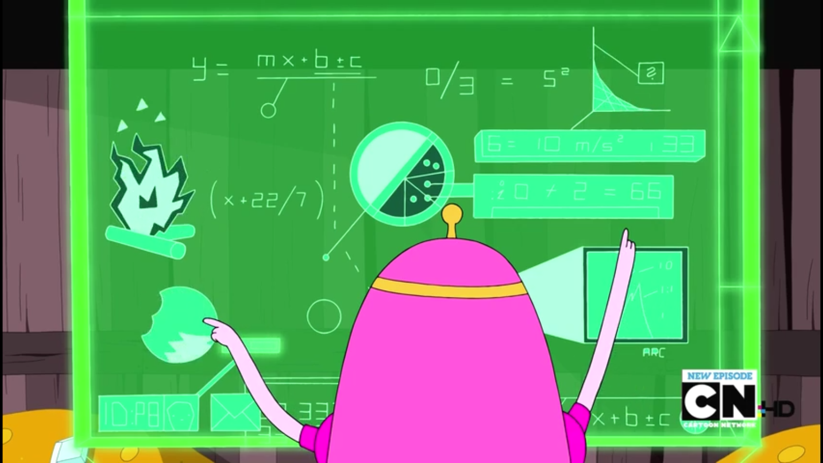 S4e16 PB's equations for the relationship