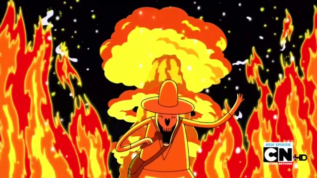 S2e17 death singing by fire