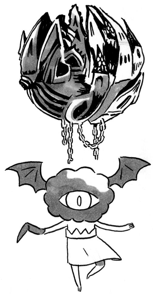 Nightmare Princess concept art