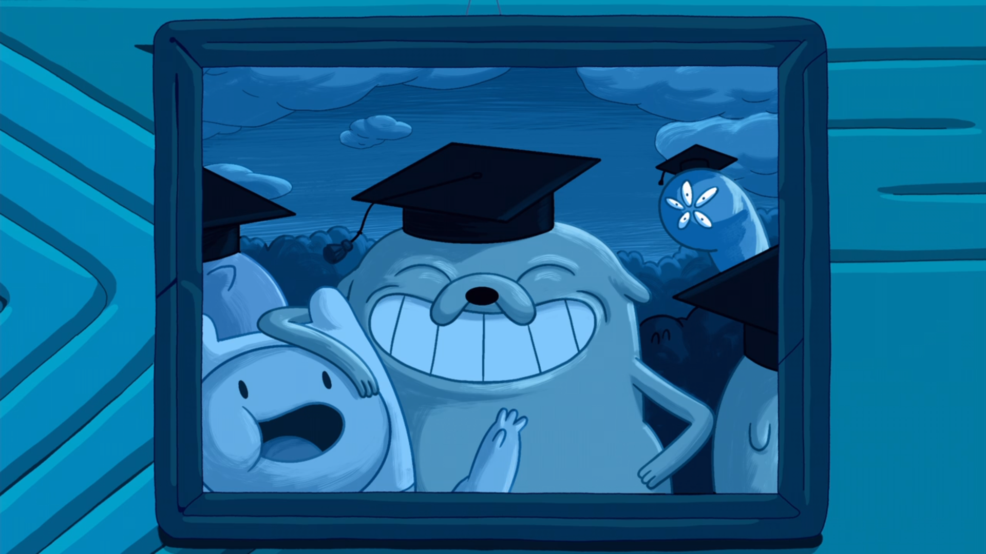 S9e10 Finn Jake graduation Warren Ampersand