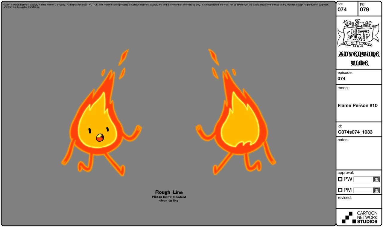 Modelsheet flameperson10