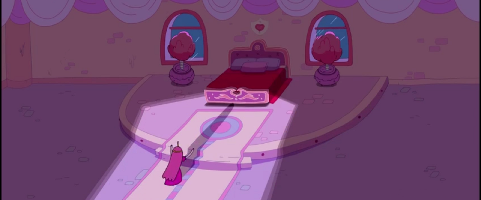 S4e16 PB running to her bed