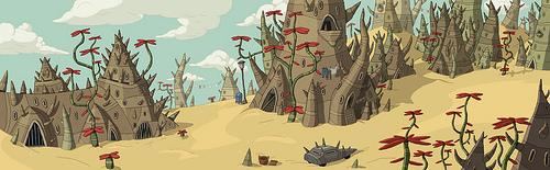Spiky Village