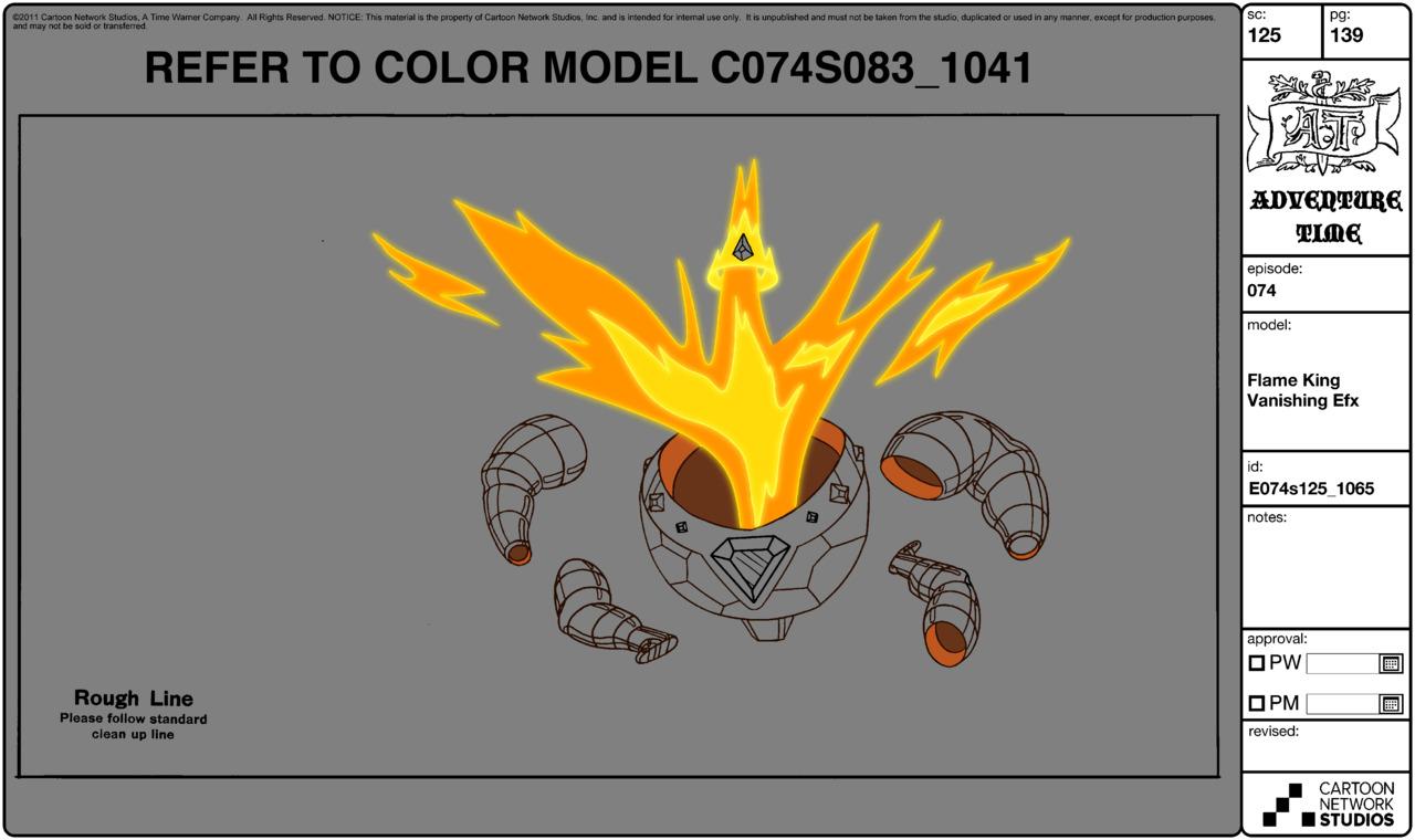 Modelsheet flameking vanishingefx