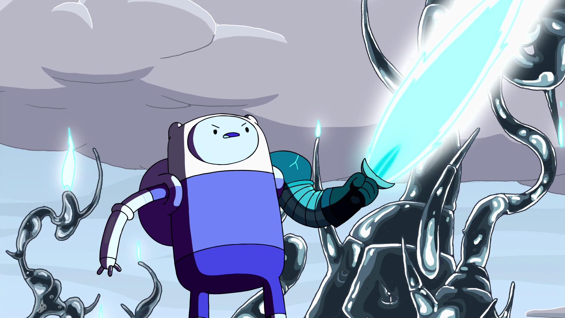 Finn with Flame Dagger