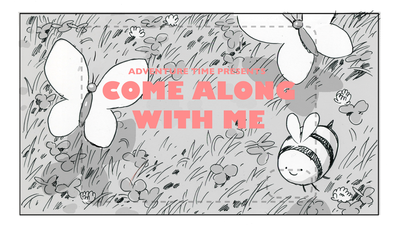 Come Along with Me title card design by Tom Herpich