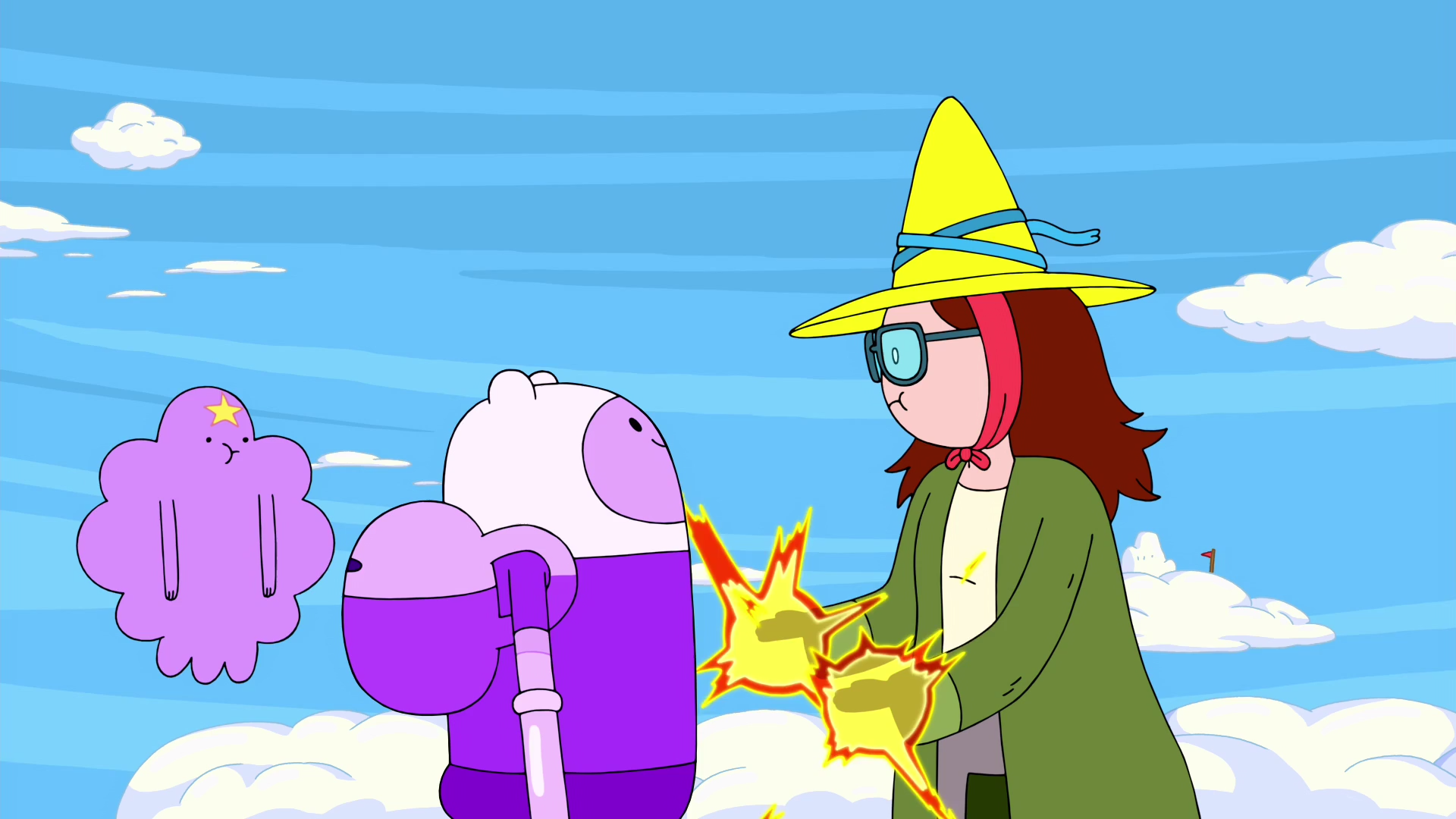 Betty Completes the Spell