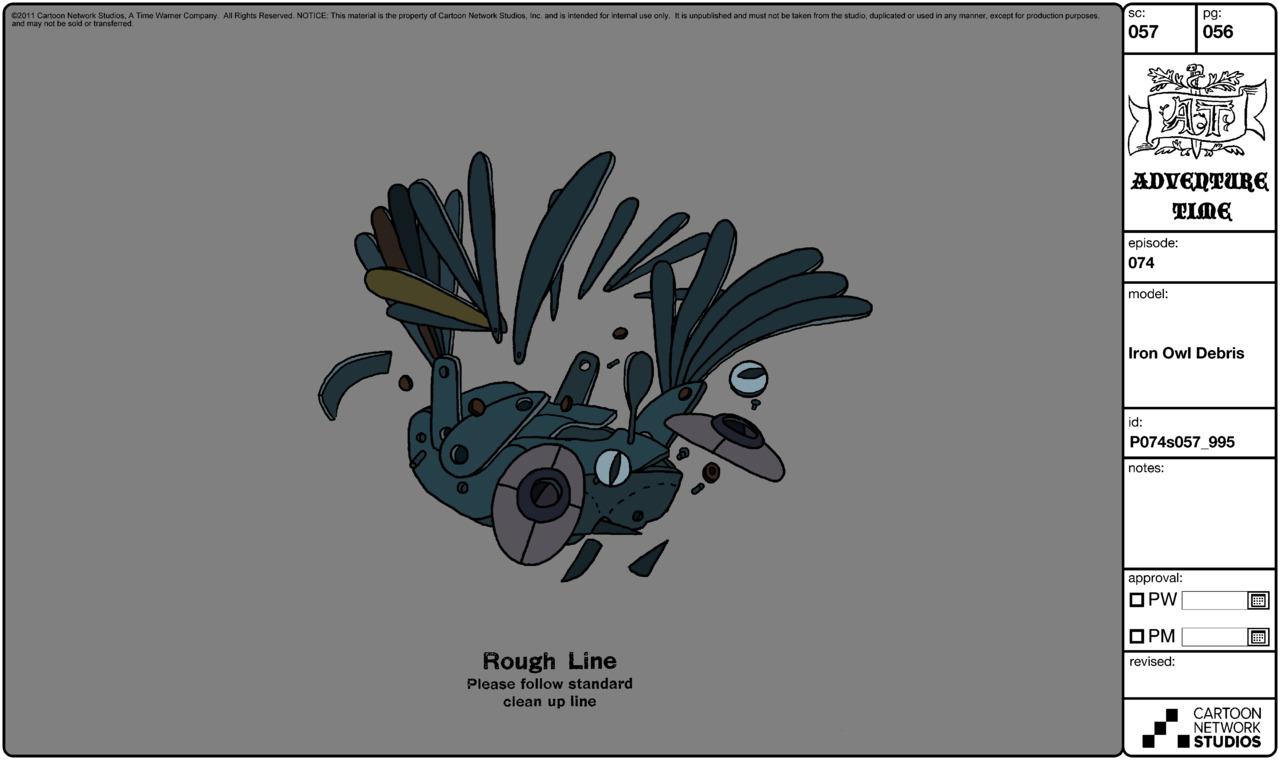 Modelsheet ironowl debris