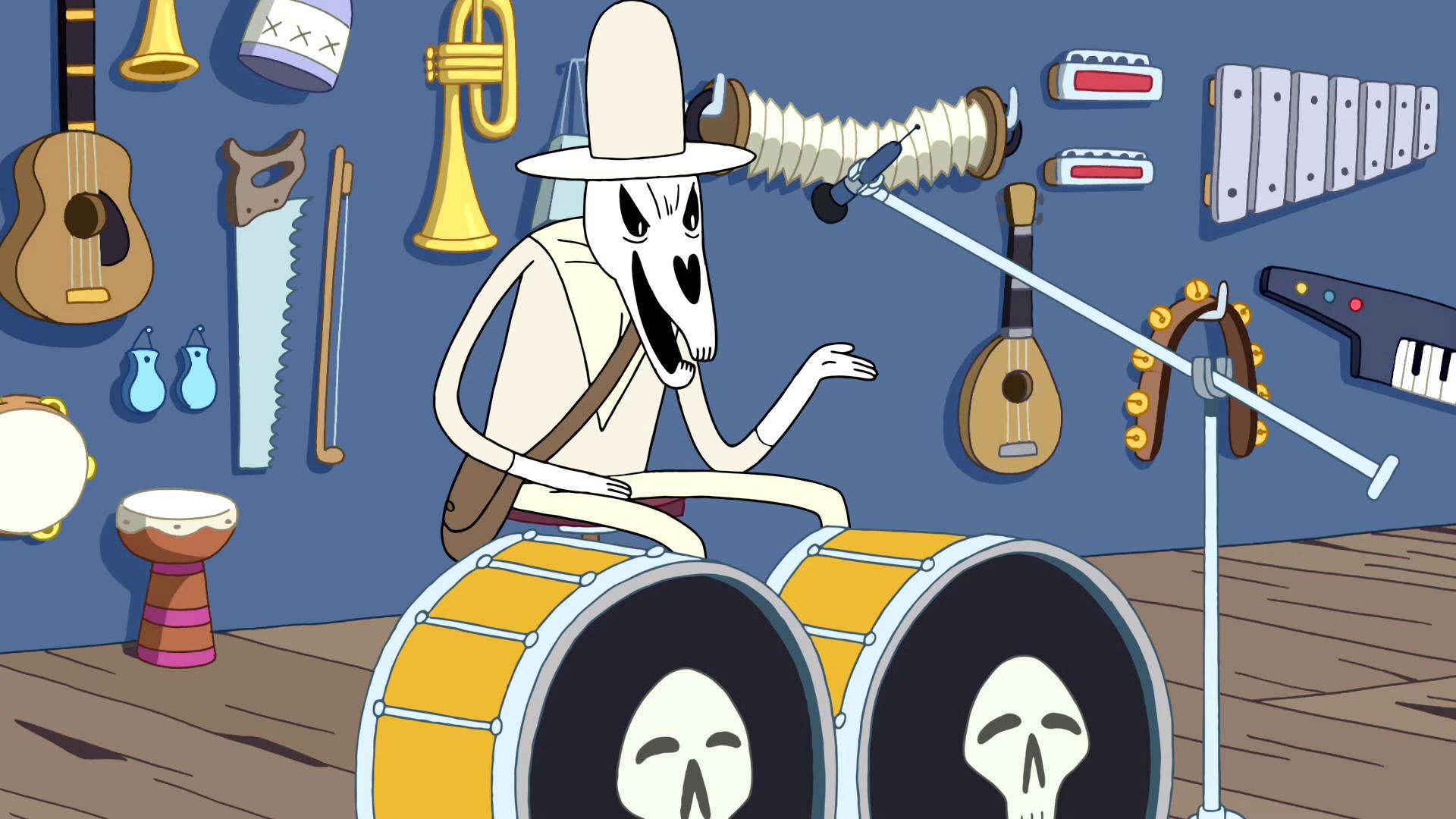 S2e17 Versus Death in a musical battle