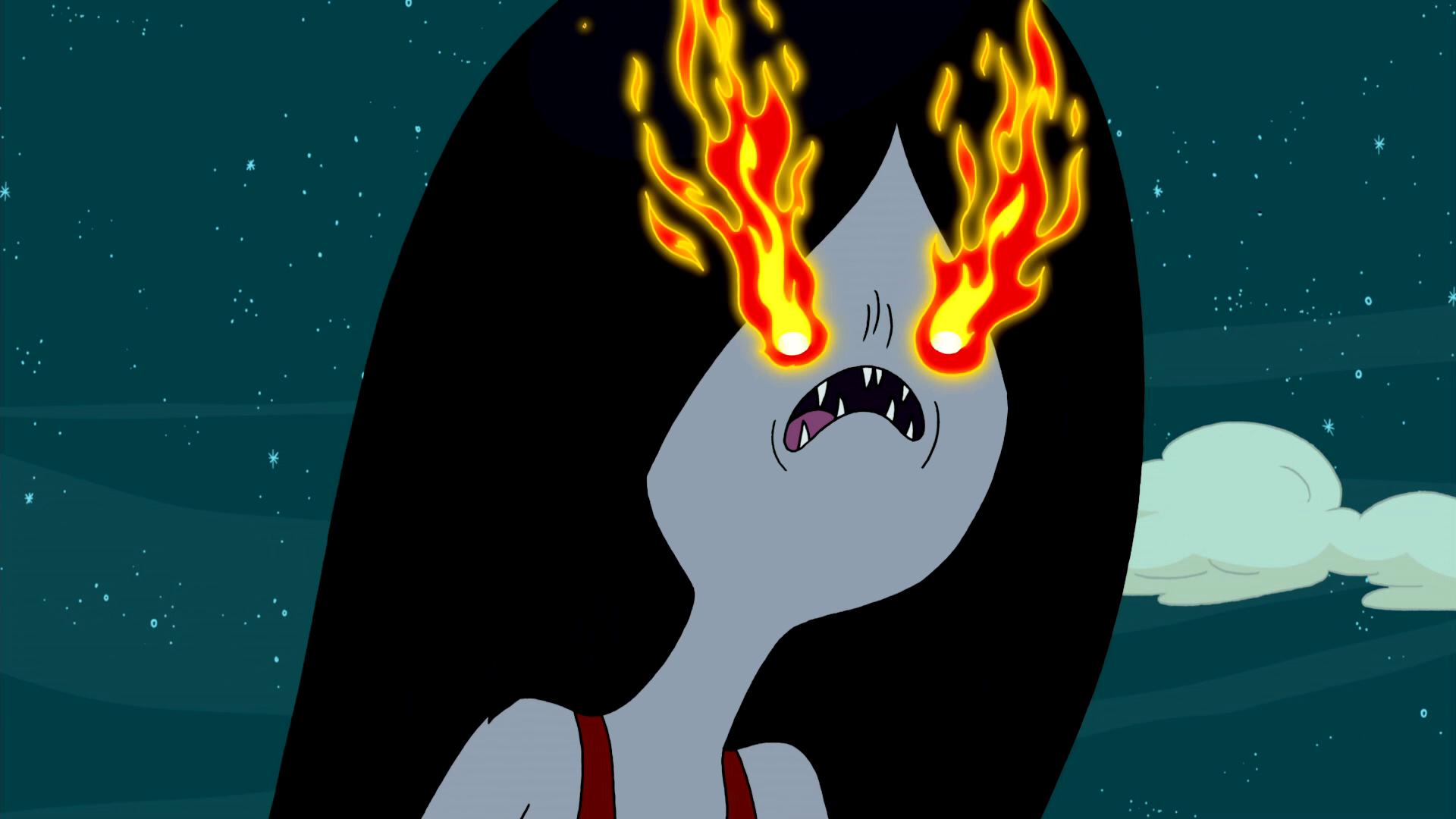 S2e26 Marceline's fire eyes