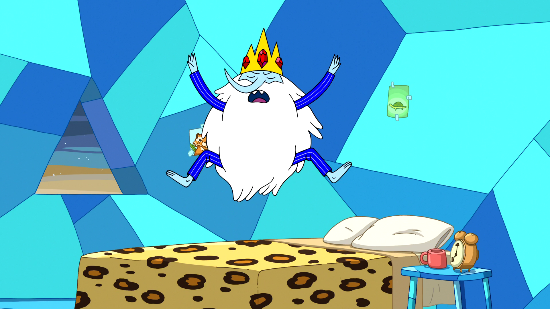 S6e24 Ice King jumping and shouting