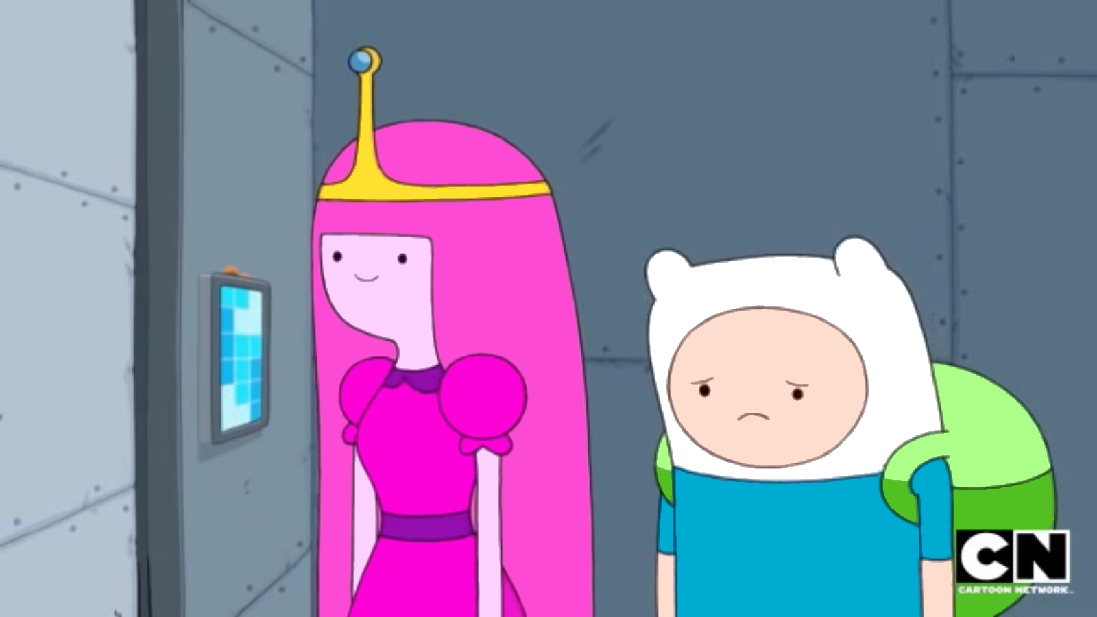 S5 E32 Emotionless PB and upset Finn