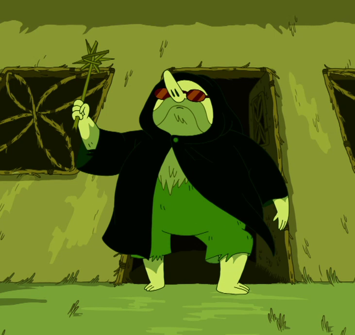 S5e45 grassy wizard disguised