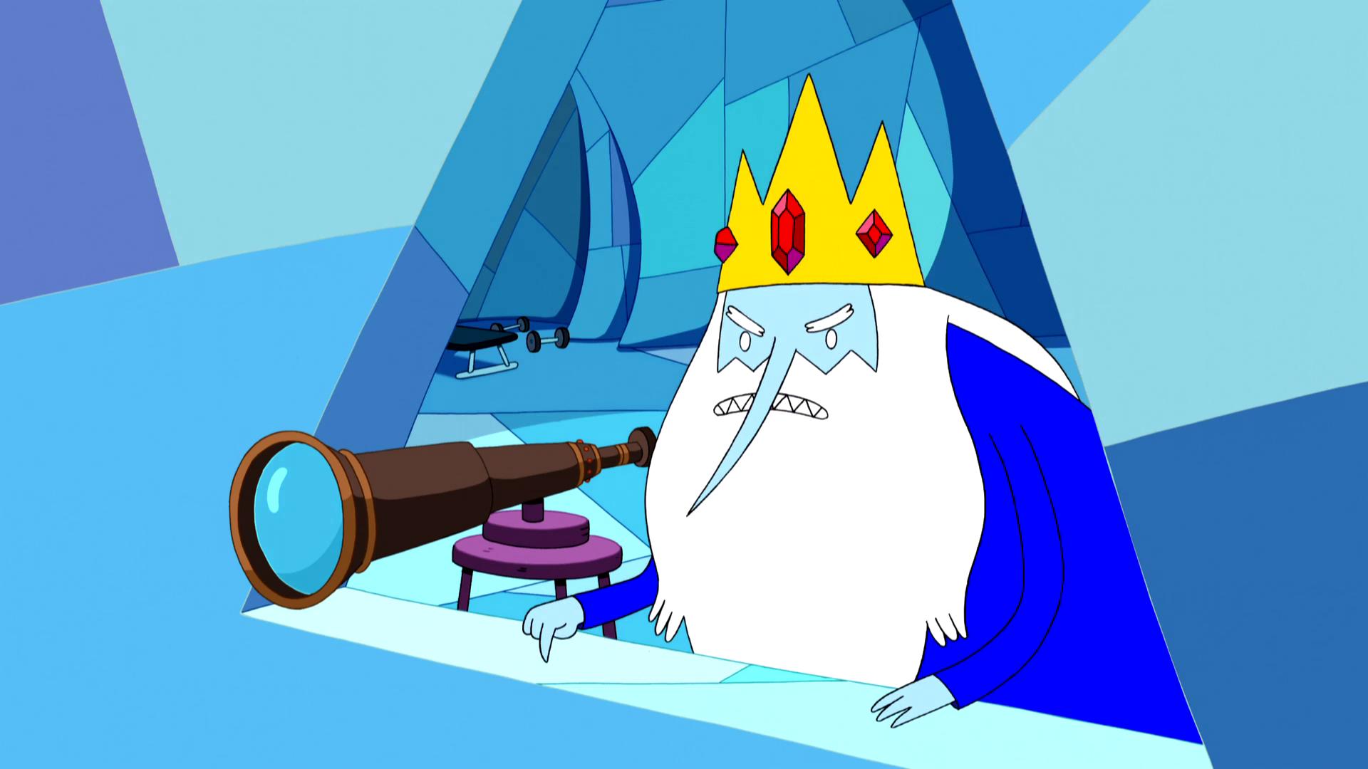 S5e18 Ice King angry