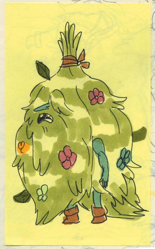Grassy Wizard concept 3