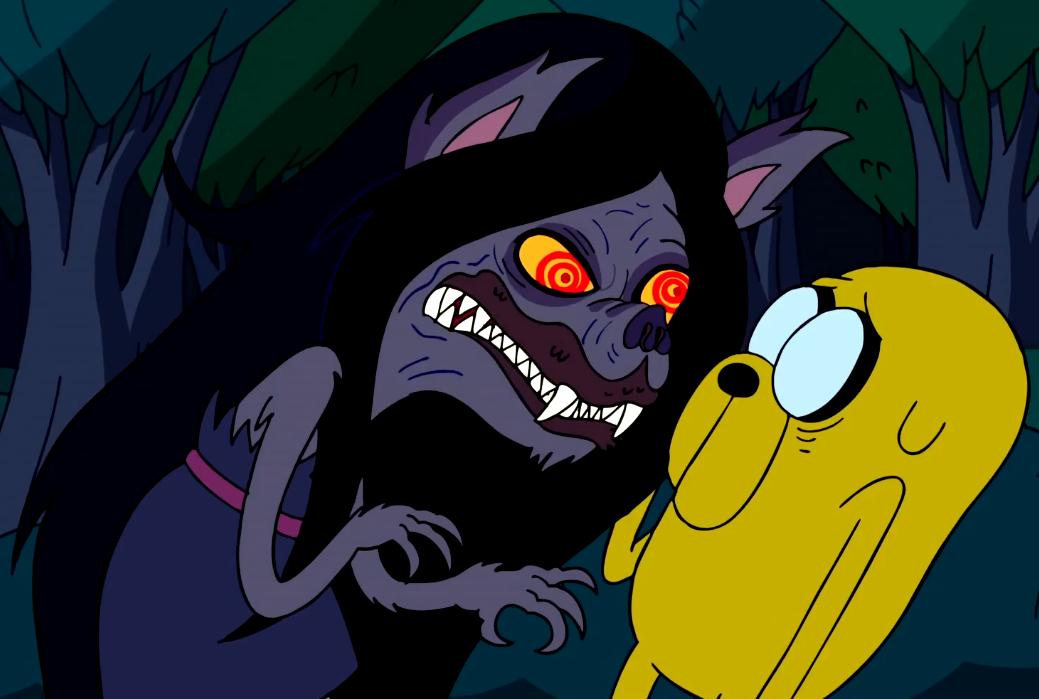 S1e22 Marceline and Jake