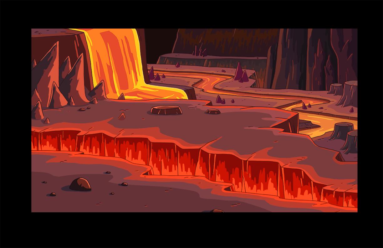 Bg s6e24 lava fissure
