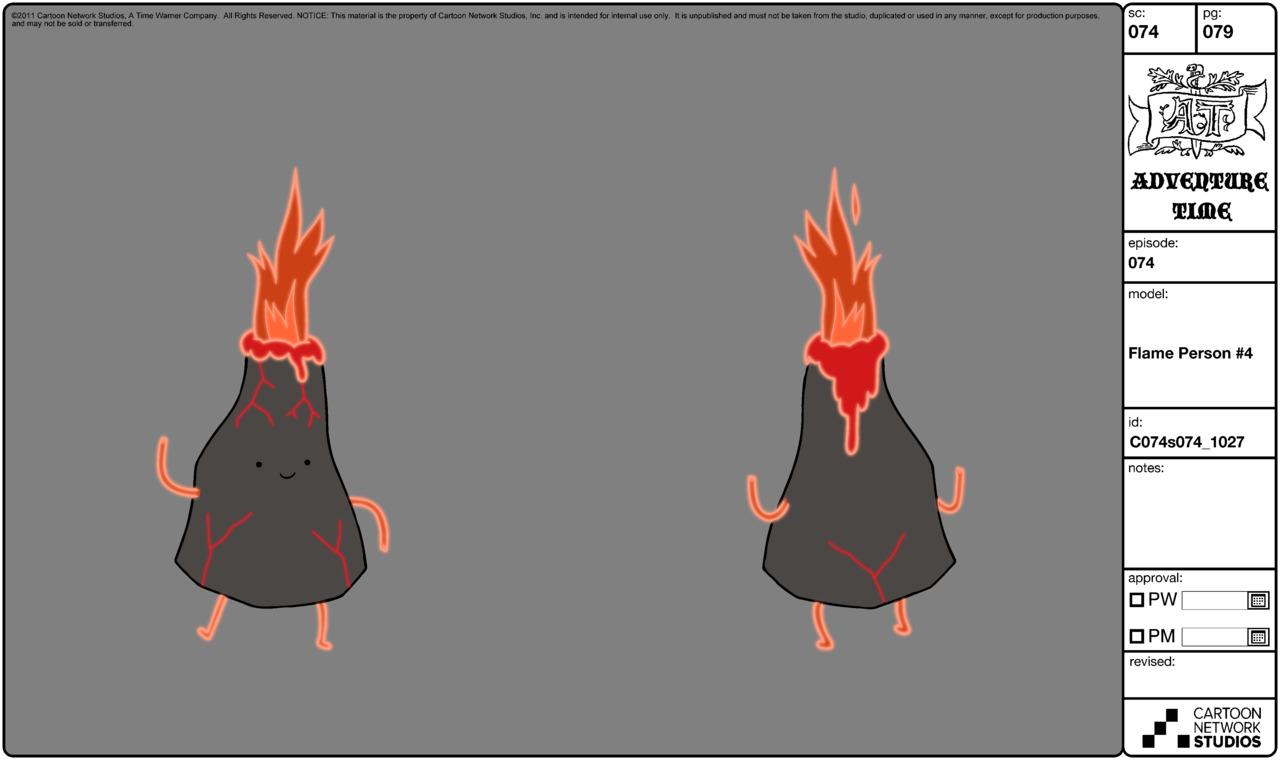 Modelsheet flameperson4