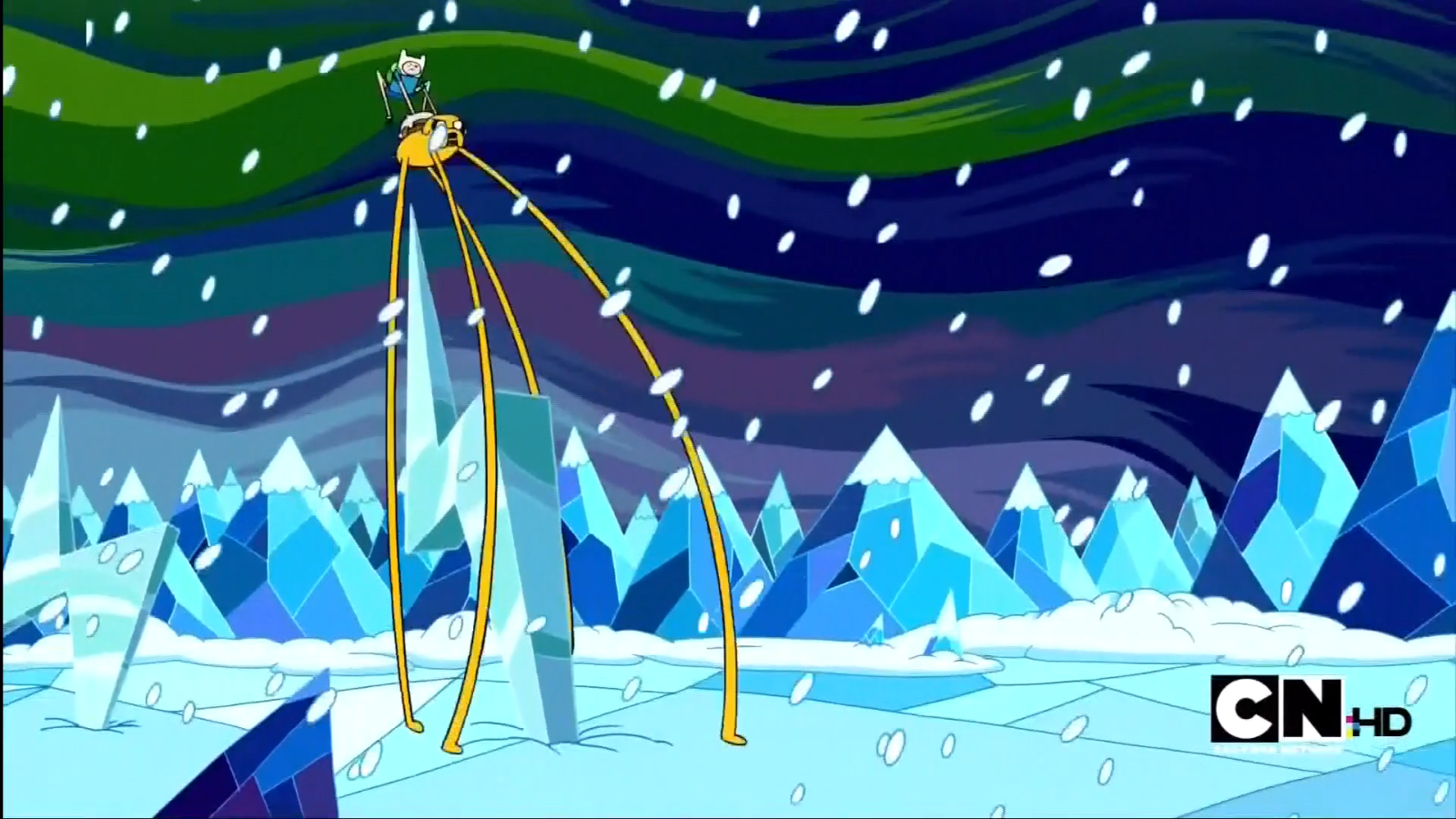 S1e12 Escaping the ice king