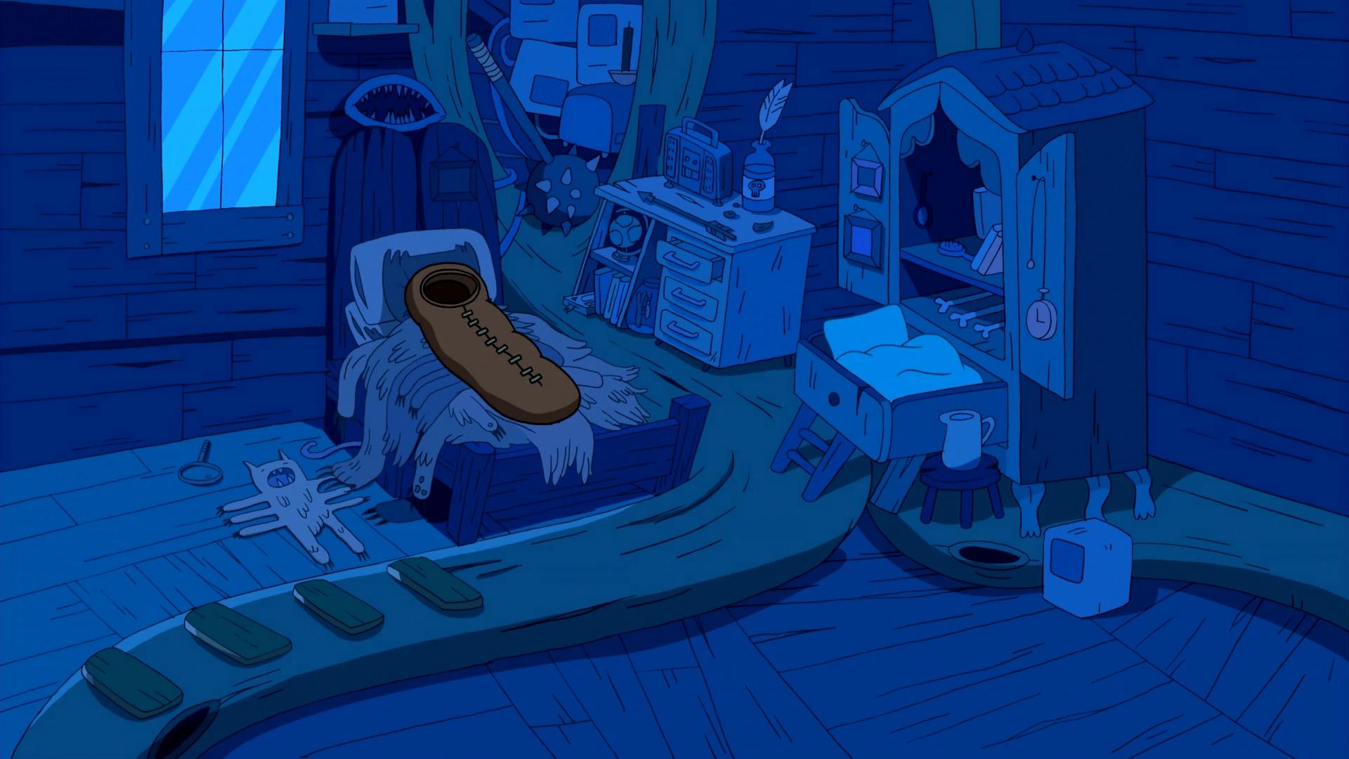 Finn's bedroom
