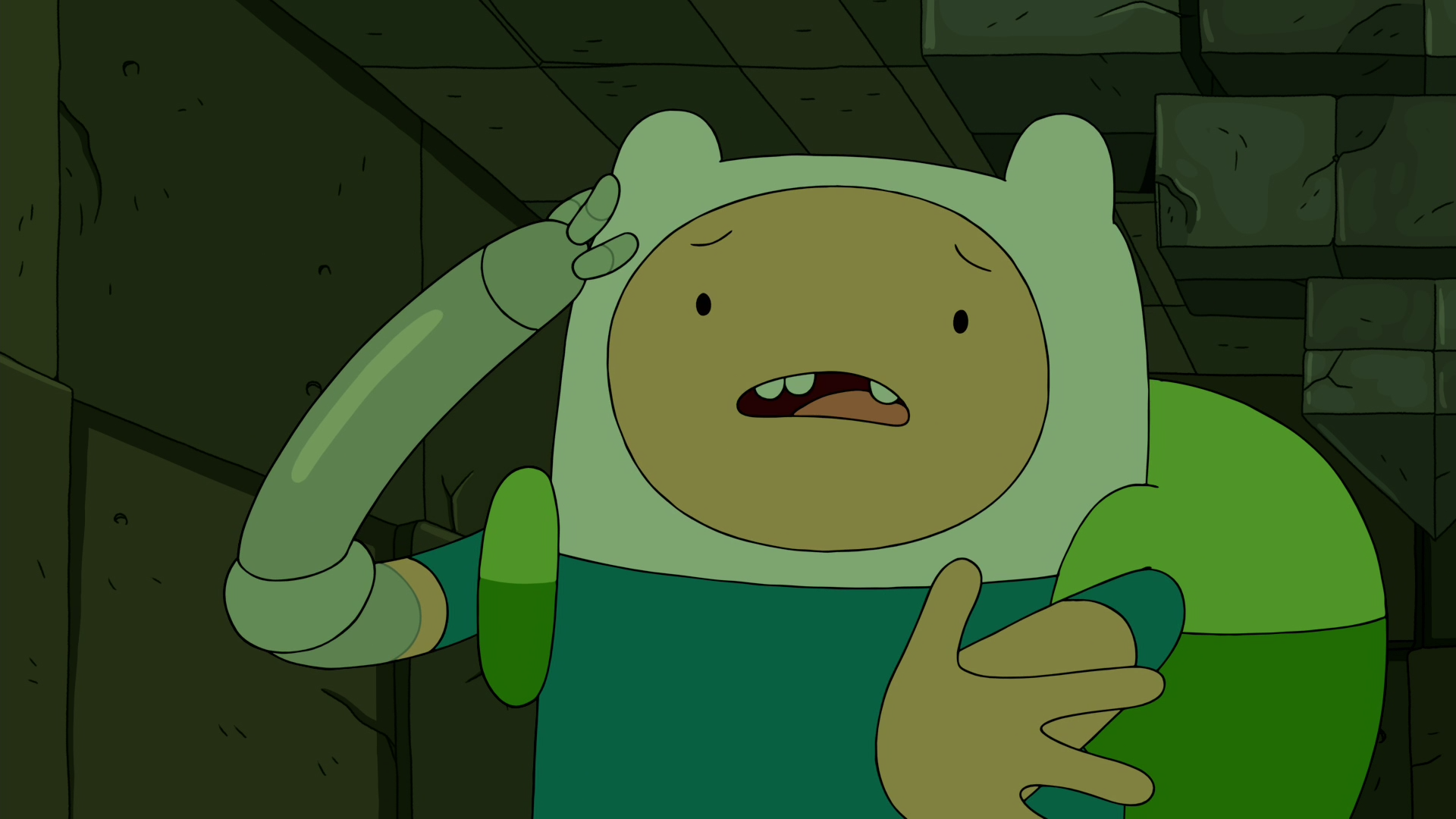 S8e28 What (Question Mark)! Fern, what about Jake, BMO -- my home(Question Mark)