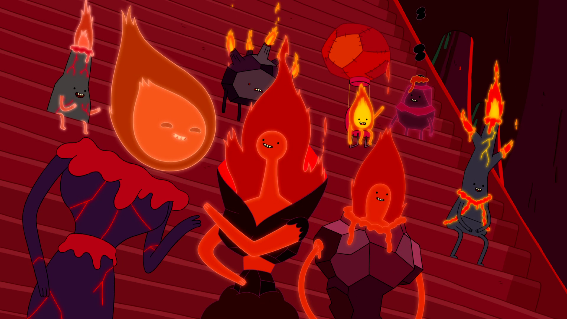 S3e26 Flame Person 1 and 2 talking