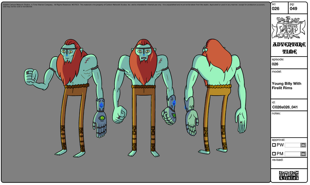 Modelsheet youngbilly withfirelightrims