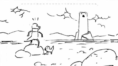 Dino and dog thing