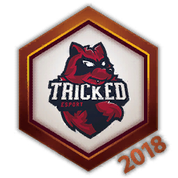 Tricked Esports 2018 Logo Spray.png