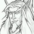 Sketch Blood Elf Portrait.png