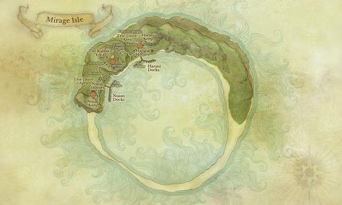 Mirage Island Map