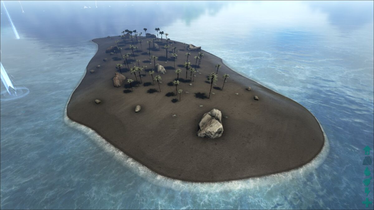 Scorched Island Map