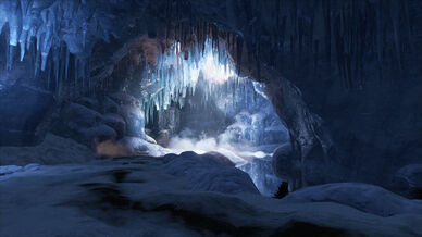 Grotte Ark The Island Localisation
