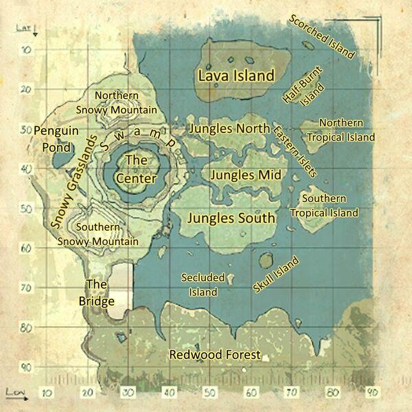 Ark Primitive Island Defence Against Rock Elemental
