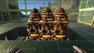 how to get dinos to attack other peoples structures ark