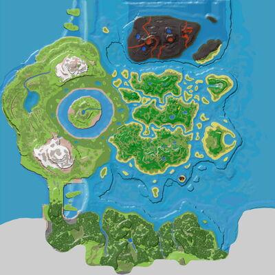 Ark Ou Loot Une Canne A Peche Sur The Island