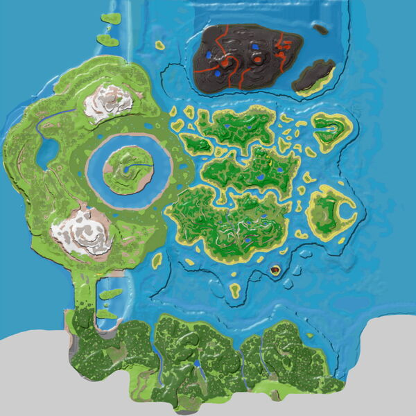 Northern Tropical Island (The Center) - Official ARK ... on palm island map, sea island map, large island map, orange island map, fruit island map, tropical home, strawberry island map, peter island map, hawaiian islands map, sand island map, tropical islands germany, rugen island germany map, tropical resorts, caribbean map, tropical islands to visit, water island map, sunset island map, tropical islands around the world, tropical weddings, island nation map,