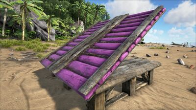 Sloped Wooden Roof - Official ARK: Survival Evolved Wiki