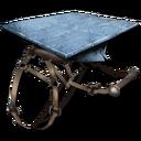 Mosasaur Platform Saddle.png ark france