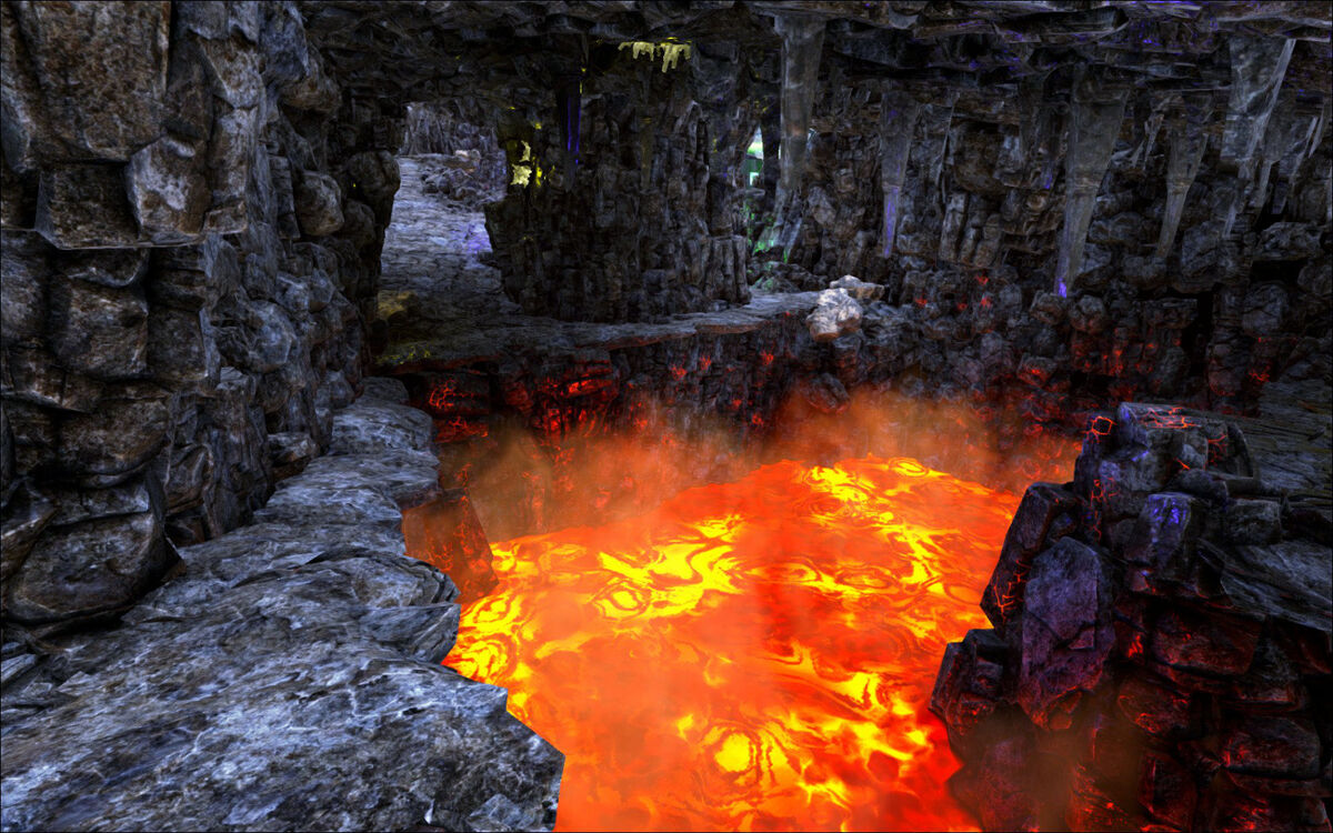 New Caves Ark The Island