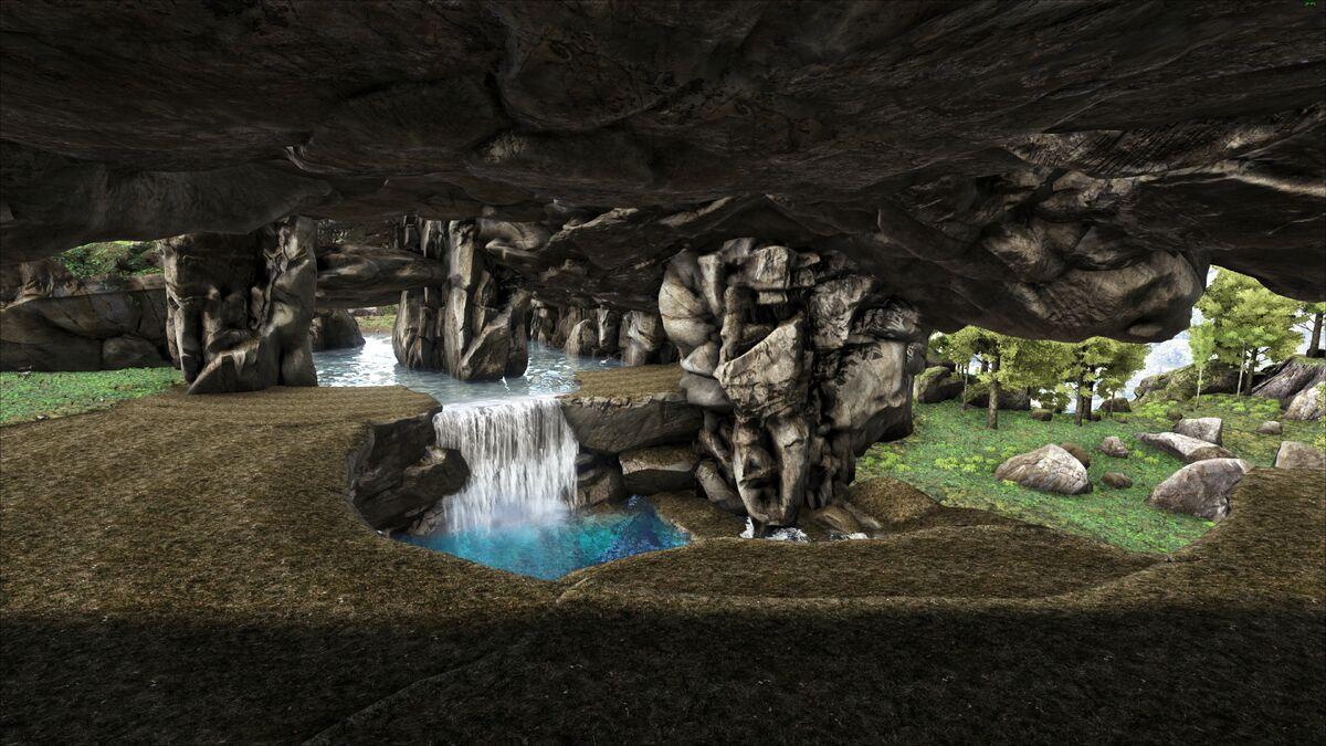 Ark The Island Ice Cave