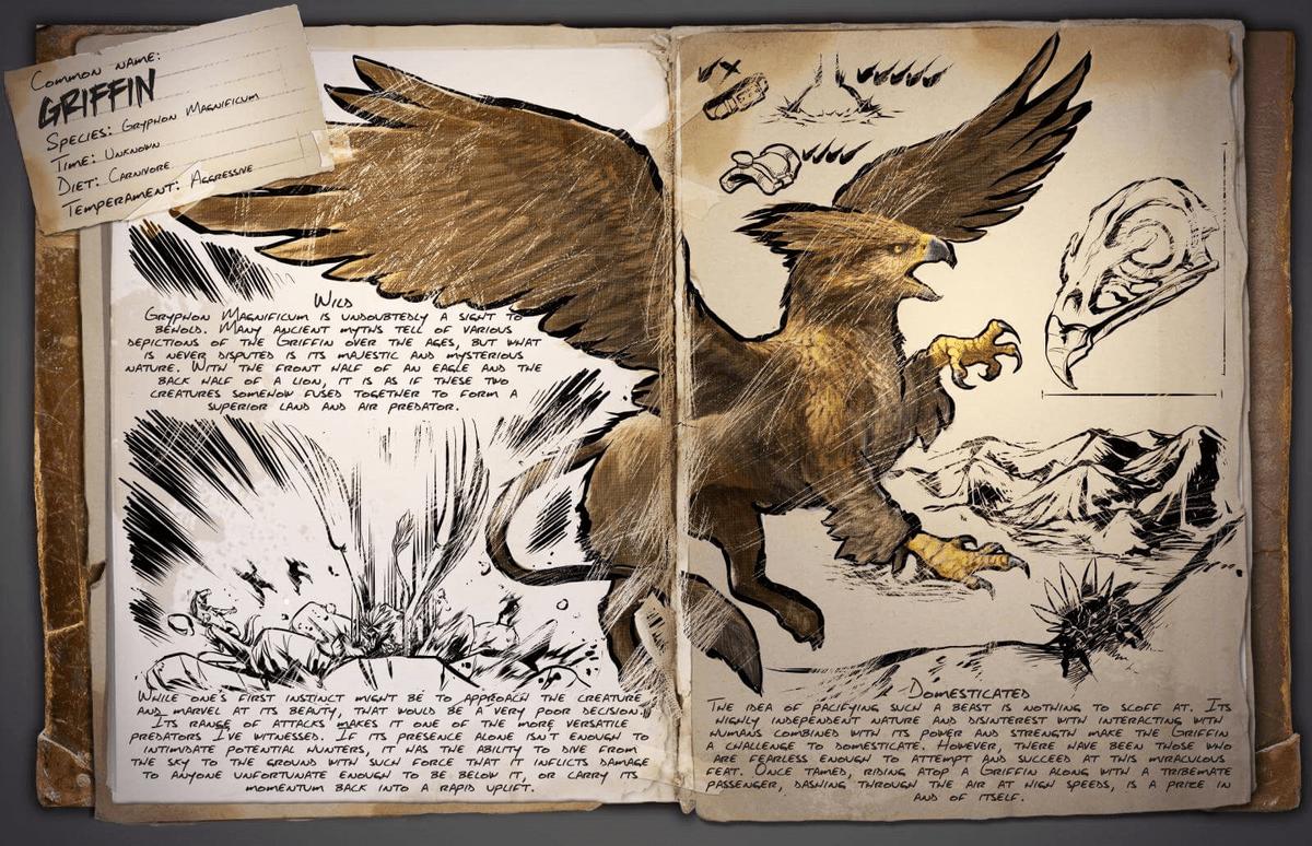 Griffin - Official ARK: Survival Evolved Wiki