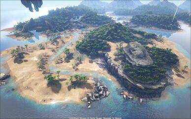 Ark Island Best Spot