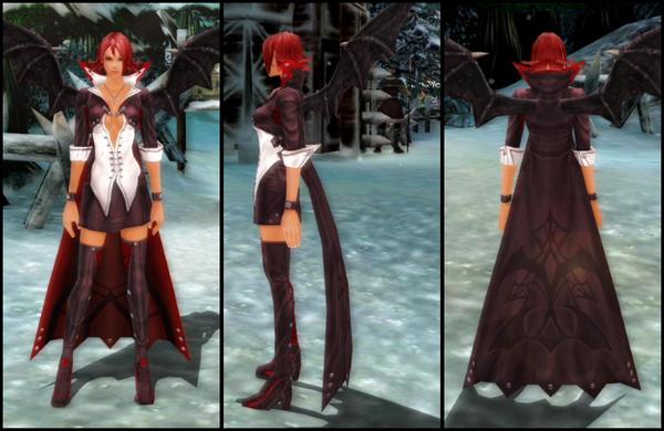 vampire suit costume