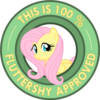 100px-Fluttershy_approved.png