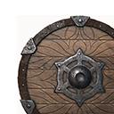 木質小圓盾