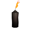 Icon black candle tall.png