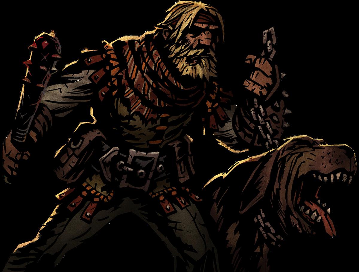 Darkest Dungeon Houndmaster Dog Attacks Not Showing